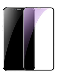 cheap -Baseus 0.23mm curved-screen tempered glass screen protector with crack-resistant edges and anti-blue light For iP 6.1(2018) Black
