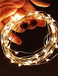 cheap -1pcs 10m LED String Lights 100leds Fairy Lights Lamp Holiday Garland Light USB For Christmas Wedding Indoor Decoration