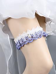 cheap -Lace Wedding Wedding Garter With Lace Garters Wedding / Festival