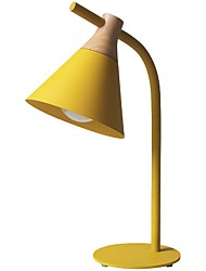 cheap -Table Lamp / Desk Lamp / Reading Light Ambient Lamps / Adorable Modern Contemporary / Nordic Style For Study Room / Office / Girls Room Metal 200-240V / 110-120V Yellow / Blushing Pink / Grey