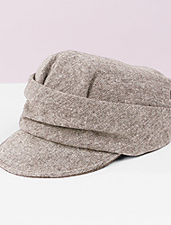 cheap -Polyester / Polyamide Hats with Solid 1 pc Casual / Daily Wear Headpiece
