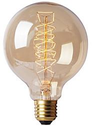 cheap -1pc 40W E26 / E27 G80 Warm White 2300k Retro Dimmable Decorative Incandescent Vintage Edison Light Bulb 220-240V/110-120V