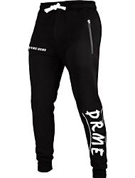 cheap -Men's Sporty Sweatpants Pants - Print Black US32 / UK32 / EU40 US34 / UK34 / EU42 US36 / UK36 / EU44
