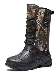 cheap -Men's Comfort Shoes PU Fall & Winter Boots Mid-Calf Boots Black / Brown