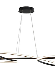 cheap -1-Light 22 cm LED / New Design Chandelier Metal Sputnik Painted Finishes LED / Modern 110-120V / 220-240V