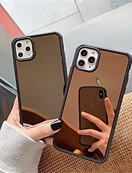 cheap -Case For Apple iPhone 11 / iPhone 11 Pro / iPhone 11 Pro Max Shockproof / Mirror Full Body Cases Solid Colored PC
