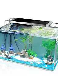 cheap -Fish Tank Air Filters Fish Tank Filter Fish Bowl Ornament Tortoise Energy Saving Glass 1 pc 29.5*20*21.5 cm