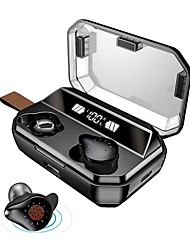 cheap -LITBest X12 TWS True Wireless Earbuds 8000mAh Mobile Power for Smartphone Wireless Sports Fitness Bluetooth 5.0 Stereo Dual Drivers IPX5 Waterproof Touch Control LED Display Type C Quick Charge