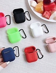 cheap -Case For AirPods Dustproof Headphone Case Soft