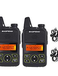 Недорогие -BAOFENG Аналоговая Аварийная тревога / Функция сохранения энергии / Голосовые подсказки 5 - 10 км 5 - 10 км 1500 mAh 5 W Walkie Talkie Двухстороннее радио