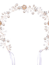 cheap -Imitation Pearl / Alloy Headdress with Imitation Pearl 1 Piece Wedding / Special Occasion Headpiece