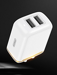 cheap -Portable Charger USB Charger US Plug / EU Plug / UK Plug 2.4 A 100~240 V for iPhone 11 / iPhone 11 Pro / iPhone 11 Pro Max