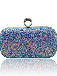 cheap -Women's Crystals / Glitter Alloy Evening Bag Black / White / Blushing Pink