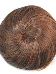 cheap -chignons Hair Bun Fashionable Design / Updo / Exquisite Drawstring Synthetic Hair Hair Piece Hair Extension Medium Brown / Dark Brown / Dark Auburn / Dark Brown / Medium Auburn