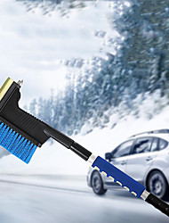 cheap -Multifunctional Snow Brush Aluminum Alloy Ice Shovel Telescopic Defrost Tool For Car Windshield Snow Remove Frost Broom Cleaner