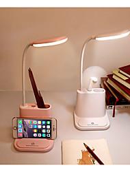 abordables -Usb rechargeable led lampe de bureau tactile gradation réglage lampe de table pour enfants enfants lecture étude chevet chambre salon