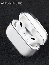 cheap -Protective Cover Case / Headphone Carry Bag Simple Style Apple Airpods Scratch-proof Plastic Shell