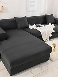 Недорогие -диван чехол стрейч дешевый диван чехол 1 шт серый мягкий прочный чехлы спандекс жаккардовые ткани моющиеся мебель протектор кресло кресло L-образной формы