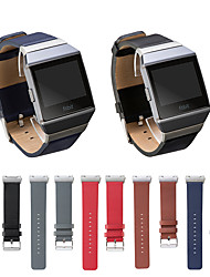 cheap -Watch Band for Fitbit ionic Fitbit Leather Loop Genuine Leather Wrist Strap