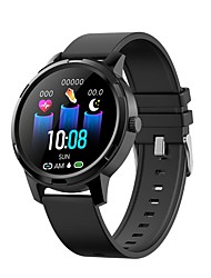 cheap -Smartwatch Digital Modern Style Sporty Silicone 30 m Water Resistant / Waterproof Heart Rate Monitor Bluetooth Digital Casual Outdoor - Black Blue Pink