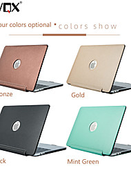 cheap -MacBook Case Solid Colored PU Leather for Macbook Air 11-inch / New MacBook Pro 15-inch / New MacBook Pro 13-inch