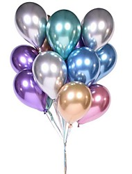 cheap -Muiltcolor Chrome Balloons Pearl Metal Balloons Rich Color Metallic Latex Decoration for Wedding Birthday Baby Shower Graduation Party 1pcs