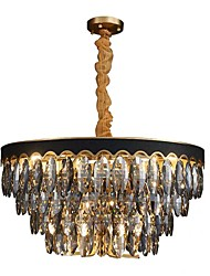 cheap -14 Bulbs QIHengZhaoMing 60 cm Chandelier Metal Modern 110-120V / 220-240V