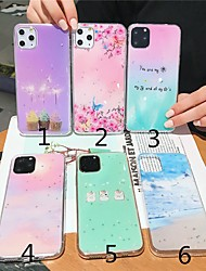 cheap -Case For Apple iPhone 11 / iPhone 11 Pro / iPhone 11 Pro Max Ultra-thin Back Cover Color Gradient / Butterfly / Scenery TPU