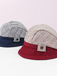 cheap -Polyester / Polyamide Hats / Headwear with Color Block 1 pc Casual / Daily Wear Headpiece