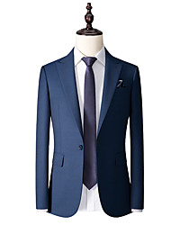 cheap -Oriental Blue wool custom suit