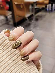 Недорогие -1 шт. Фольги наклейки романтическая серия ногтей маникюр педикюр лучшее качество / прочный стильный / простой ежедневно / фестиваль