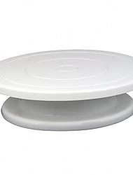 cheap -Baking Turntable Rotating Cake Decorating Table Plastic Decorating Tool Cake Turntable