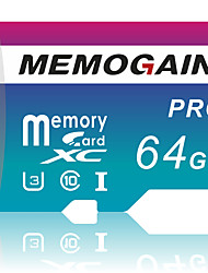 cheap -MEMOGAIN 64GB Memory Card 32GB 16GB High Speed Micro SD Card C10 UHS-3 SDXC SDHC Flash Card Memory Microsd TF/SD Card