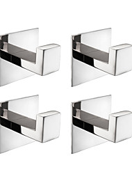 cheap -Faucet accessory - Superior Quality - Contemporary / European Style Stainless Steel Set / Towel Bar / Robe Hooks - Finish - Brushed
