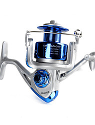 cheap -Fishing Reel Spinning Reel 5.2:1 Gear Ratio+13 Ball Bearings Hand Orientation Exchangable Sea Fishing / Bait Casting / Ice Fishing