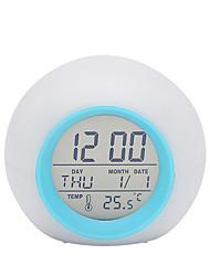 cheap -Alarm clock Digital Plastics LED 1 pcs