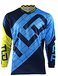 cheap -Cross-country T-shirt long sleeve motorcycle Jersey cycling suit moisture absorption and sweat wicking speed dry bike DH speed down