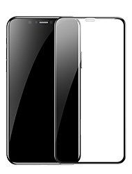 cheap -Baseus 0.23mm curved-screen tempered glass screen protector with crack-resistant edges For iP 6.1(2018) Black