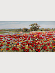 cheap -Oil Painting Hand Painted Landscape Modern Rolled Canvas Rolled Without Frame