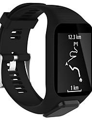 cheap -Smartwatch Band for TomTom Golfer 2 / Runner 2 / Runner 3/ Spark 3 /Spark / Cardio / Adventurer Sport Band Fashion Soft Silicone Wrist Strap