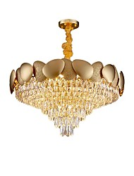 cheap -11 Bulbs QIHengZhaoMing 60 cm Chandelier Metal Modern 110-120V / 220-240V