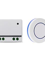 Недорогие -AC85V-250V 110V 1-канальный релейный переключатель / 10a реле приемник / приемник обучающего кода для освещения / светодиодный индикатор питания выключен / 433 МГц
