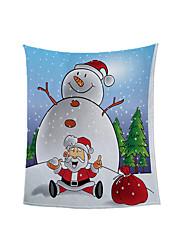 cheap -Christmas New Polyester Winter Blanket Double Wram Berber Fleece