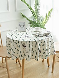 cheap -Classic 75g / m2 Polyester Knit Stretch Cube Table Linens Table Decorations