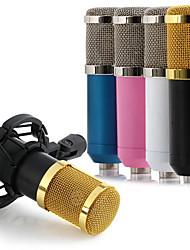 Недорогие -динамический конденсаторный микрофон bm800 микрофон звукозапись студия для пения комплект для записи ktv караоке с креплением