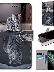cheap -Phone Case For Apple Full Body Case Leather Wallet Card iPhone 12 Pro Max 11 SE 2020 X XR XS Max 8 7 6 iPhone 11 Pro Max SE 2020 X XR XS Max 8 7 6 Wallet Card Holder with Stand PU Leather TPU