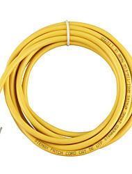 Недорогие -10 м желтый внешний сетевой кабель Ethernet cat5e 100% медь RJ45 высочайшее качество mar24