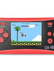 abordables -console de jeu portable gb-9x pour enfants système de jeux d'arcade console de jeu vidéo avec écran lcd 2,5 couleurs et 168 jeux rétro classiques intégrés excellent cadeau d'anniversaire pour enfants