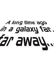 cheap -Star Wars Decorative Wall Stickers - Plane Wall Stickers Characters Bedroom / Study Room / Office