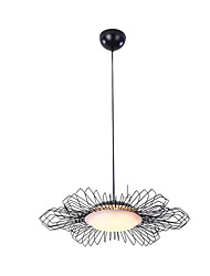 cheap -1-Light ZHISHU 10 cm LED Chandelier Metal Acrylic Candle-style / Cluster Electroplated / Painted Finishes Traditional / Classic / Nordic Style 110-120V / 220-240V